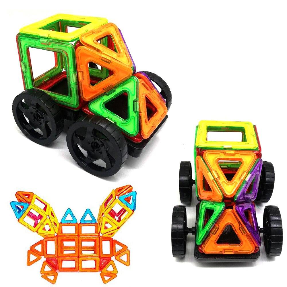 Magnetic building blocks Designer Construction Set Model & Building Toy Magnets Magnetic Blocks Educational Toys For Children