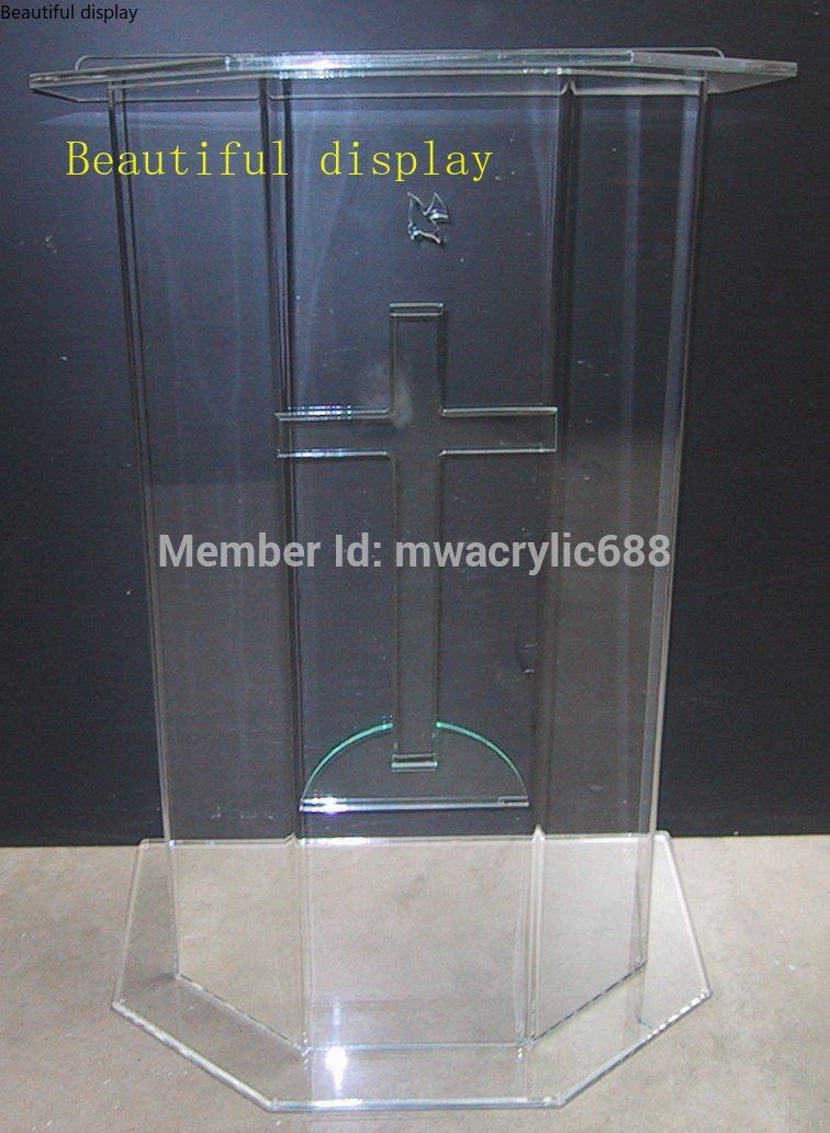 Pulpit Furniture Free Shipping Beautiful Price Reasonable Clean Acrylic Podium Pulpit Lectern Acrylic Podium Plexiglass