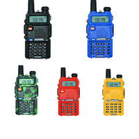 Outdoor UV 5R Walkie Talkie Professional CB Radio Station Baofeng UV5R Transceiver 5W VHF UHF Portable UV 5R Hunting Ham Radio