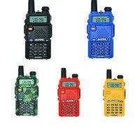 Outdoor UV 5R Walkie Talkie Professional CB Radio Station Baofeng UV5R Transceiver 5W VHF UHF Portable UV 5R Hunting Ham Radio