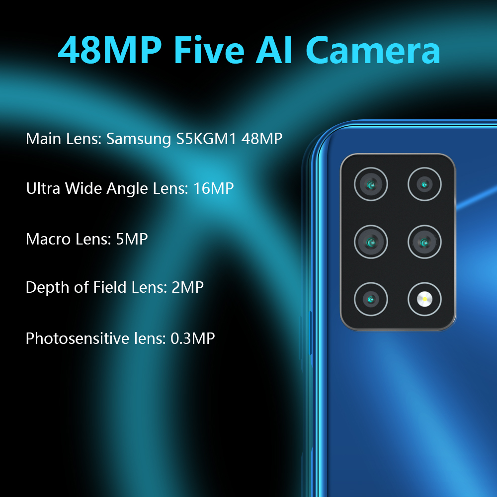 """Cubot X30 Smartphone 48MP Five Camera 32MP Selfie 8GB+256GB NFC 6.4"""" FHD+ Fullview Display Android 10 Global Version Helio P60 1"""