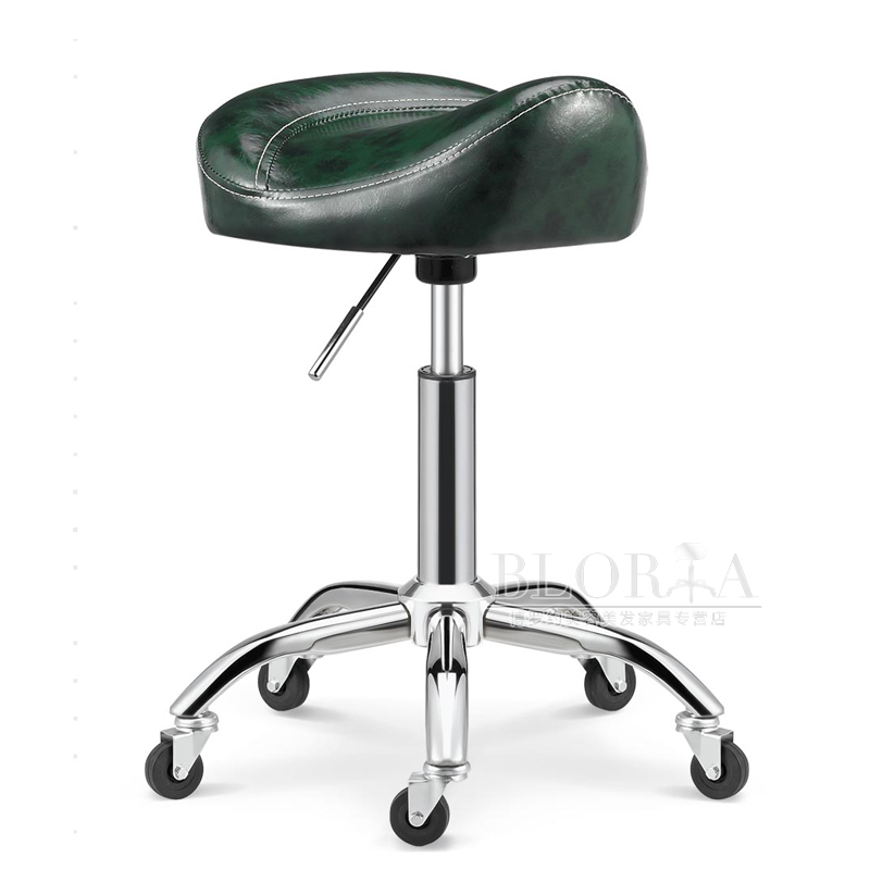 Beauty Stool Barber Shop Chair Hair Salon Rotating Lift Stool Nail Makeup Salon Pulley Workbench High Quality Chairs