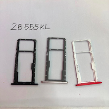 Подлинный держатель лотка для двух Sim-карт для Asus ZenFone MAX M1 ZB555KL слот для Sim SD-карты адаптер запасные части для ремонта