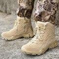Мужские Военные Тактические армейские ботинки  Нескользящие  дышащие  износостойкие  пустынные  боевые ботинки  треккинговые  альпинистски...