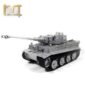 Image 2 - MATO char RC en métal, 1220 100% G, char allemand Tiger 1, baril de combat à infrarouge, BB tir, prêt à fonctionner, VS Tamiya, 2.4G