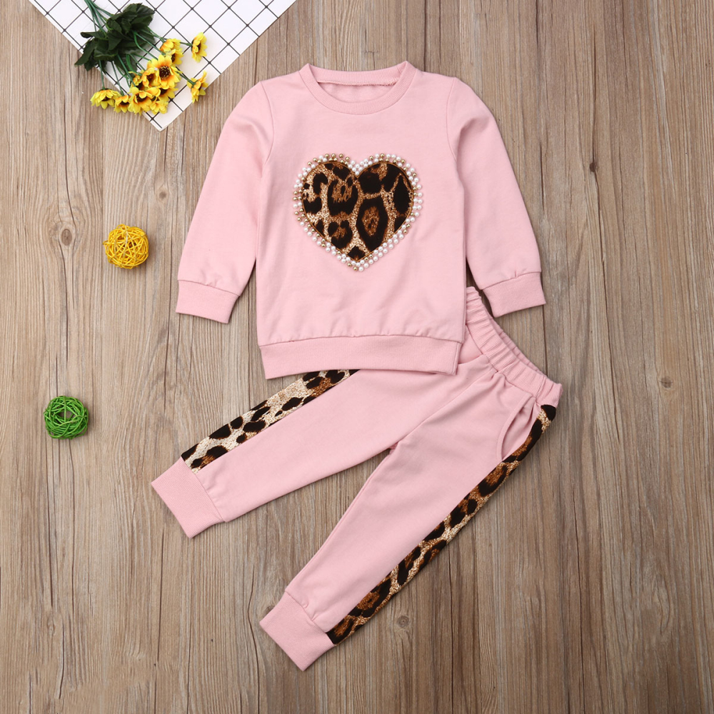 Long Sleeve Leopard Tracksuit