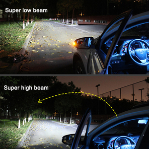 Image 5 - Nlpearl carro farol lâmpadas 20000lm h4 led canbus lente do projetor kit les kit de conversão oi/lo feixe farol 12v/24v rhd lhd