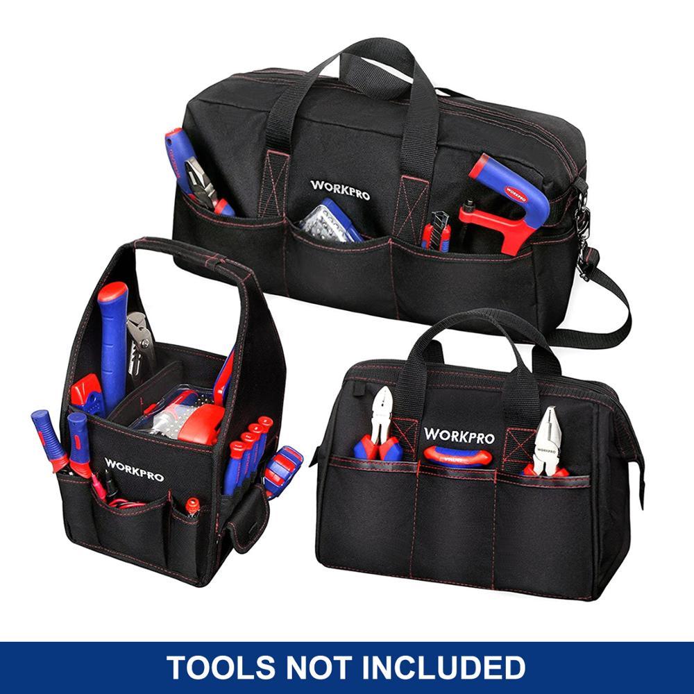 """WORKPRO patvarus įrankių krepšys """"Combo"""" 2PC rankinės 1PC - Įrankių laikymas - Nuotrauka 2"""