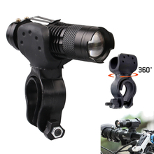 Bicycle Clip Flash Light 3 Mode Bike LED Cycling Front Light Bike Lights Lamp Torch Flashlight Metal Bicycle Accessories S20 цена