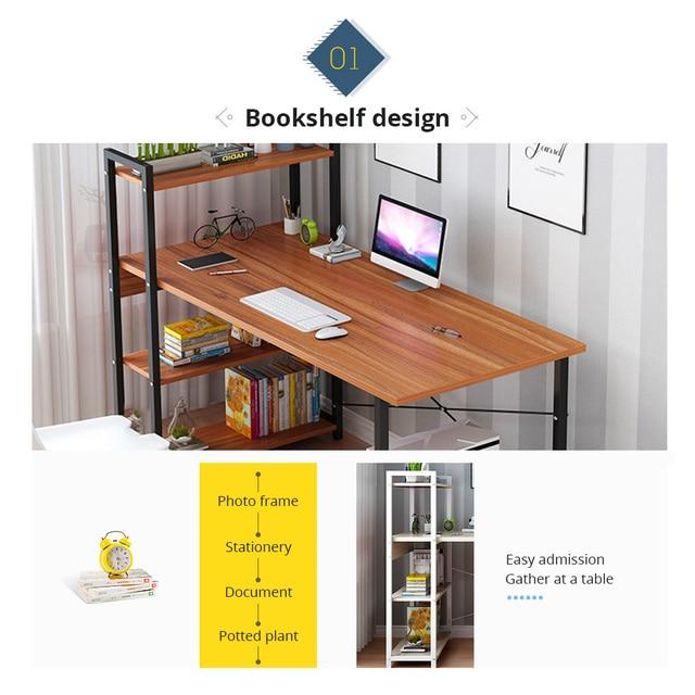 Business Office Furniture Laptop Desk Laptop Desk with Shelves