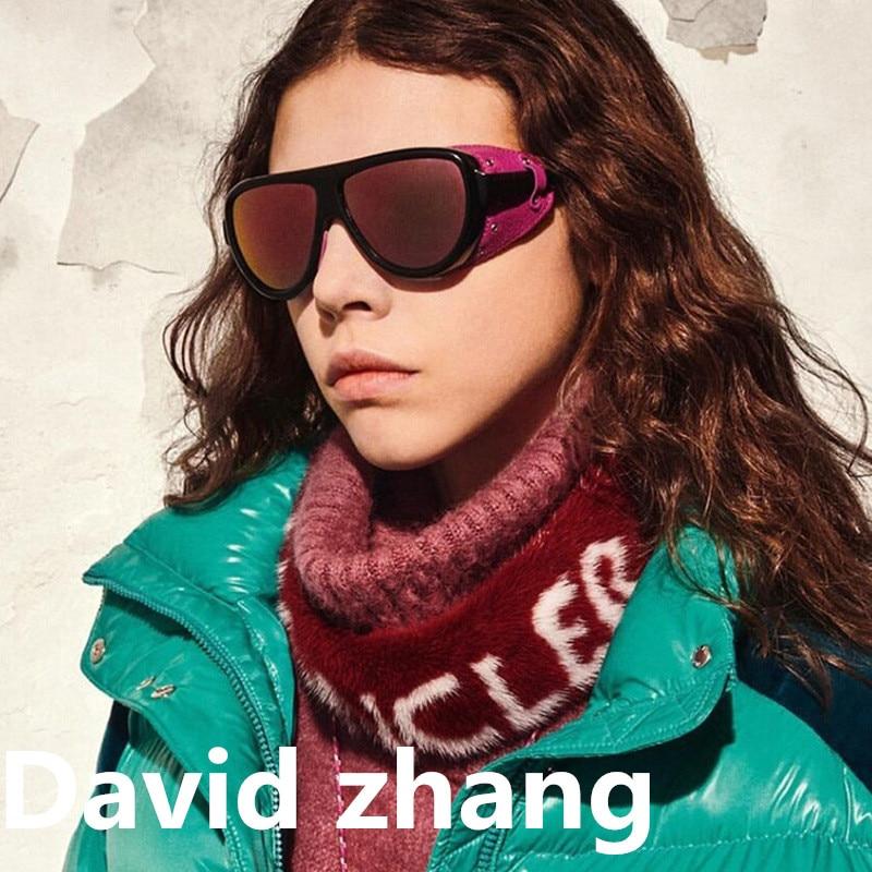 1142 new steampunk sunglasses mens side foreskin snow polarized women tide Sunglasses