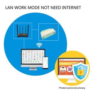 Image 4 - Tablica przekaźnikowa wifi ethernet przełącznik kontroler serwera internetowego inteligentna automatyka domowa praca w sieci LAN WAN PC aplikacja na telefon