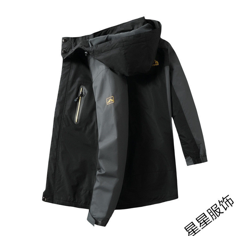 Chaqueta de bombardero 10xl 8xl para hombre de otoño grueso abrigo para hombre Abrigo con capucha a prueba de viento con cremallera Parkas chaquetas para hombre con capucha para hombre
