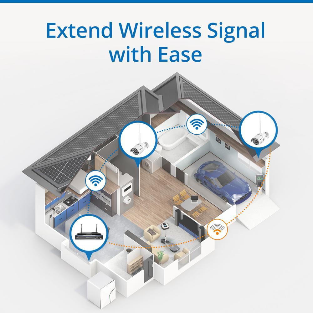 SANNCE 8 καναλιών Wifi 1080P IP κάμερα NVR - Ασφάλεια και προστασία - Φωτογραφία 6