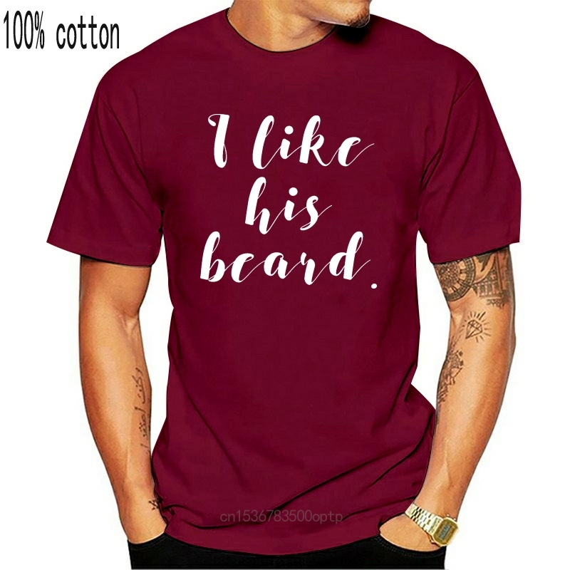 I Like His Beard I Like Her Butt T Shirt Top Couple Matching Girlfriend Gift Cool Casual pride t shirt men Unisex Fashion tshirt