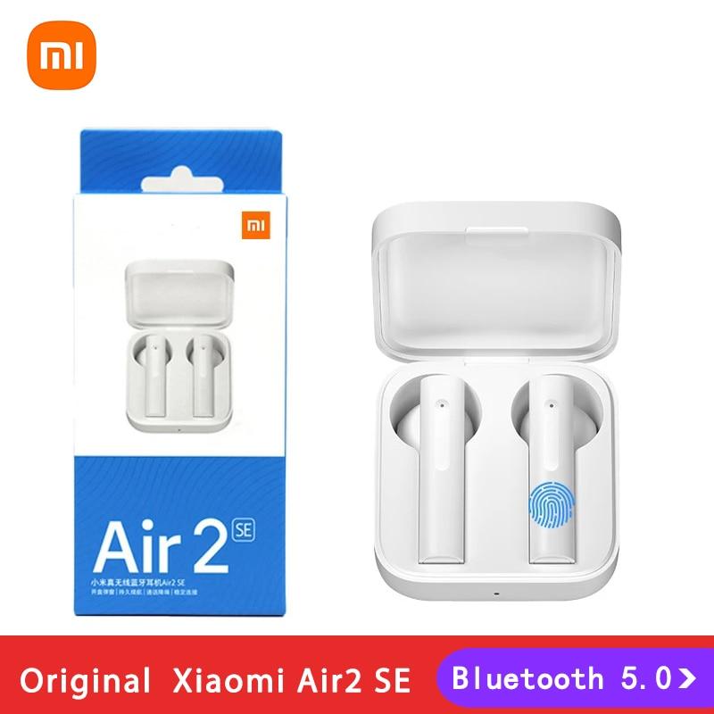 Xiao Mi Air 2 SE наушники-вкладыши TWS беспроводной Bluetooth 5,0 наушники AirDots 2SE Mi True Redmi Airdots S 2 Air 2SE Eeaphones гарнитура