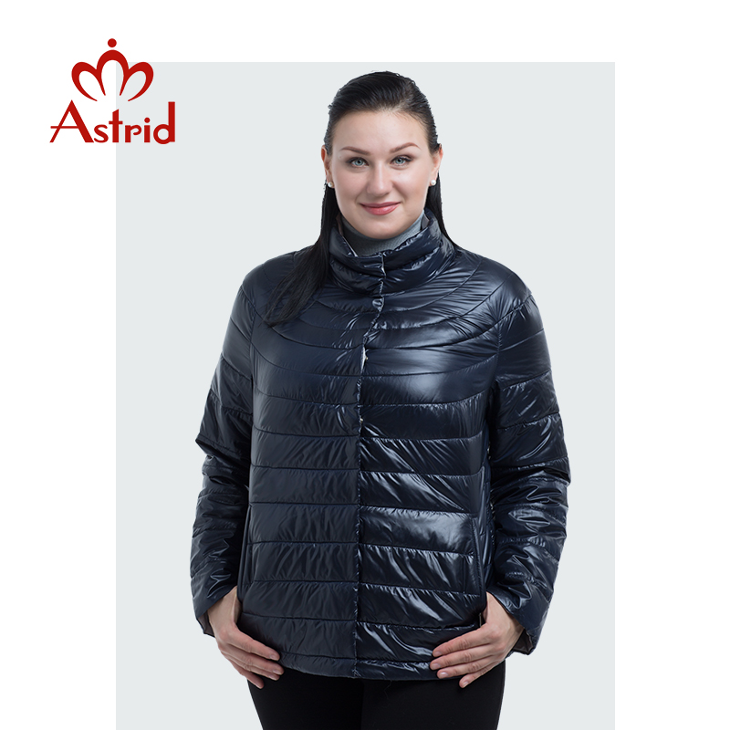 New Product Astrid Spring Winter Women Leisure Short High-Quality Jacket Female Thin Coat AM-1999