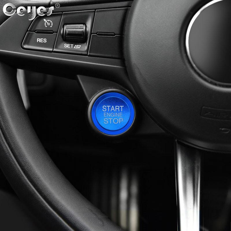 Car Start Engine Button Key Ring for ALFA ROMEO (3)