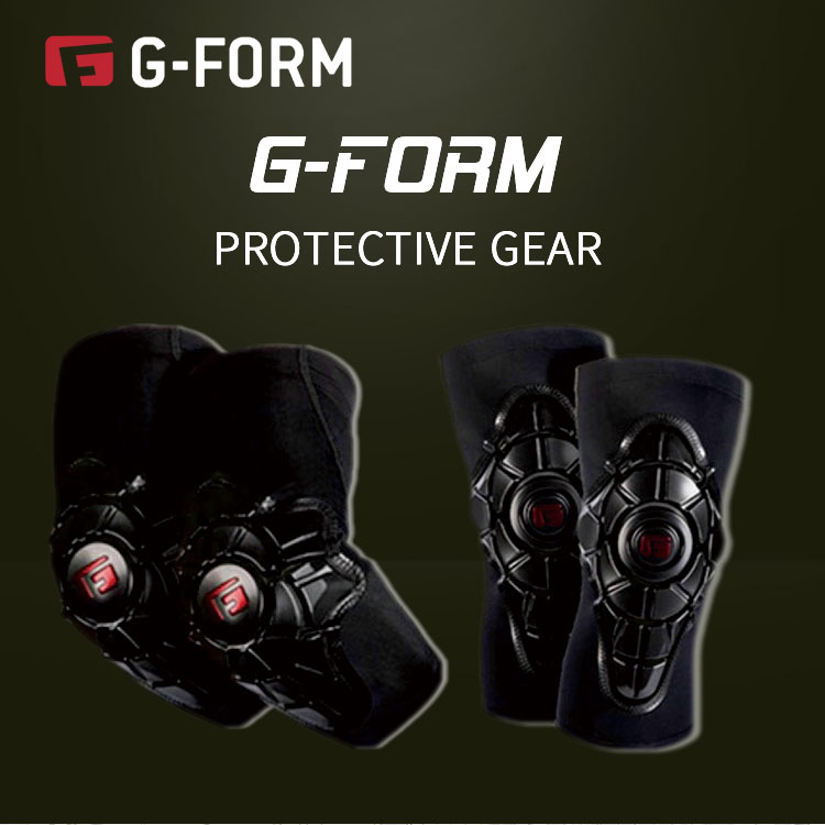 G-Form Children's Balance Bike Riding Protector Elbow Kneepad Breathable Children Bicycle Equipment Set