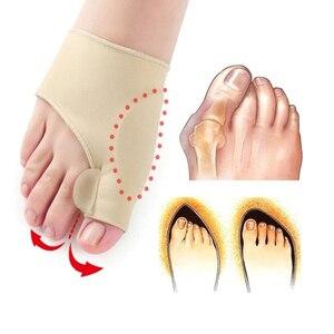 1 пара, корректор вальгусной деформации с большим носком, защитные фиксаторы, ортопедическая коррекция большого пальца, коррекция большого ...