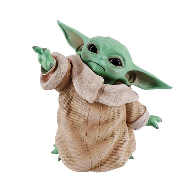 Star Wars Yoda Baby Action Figure Toys Hot Anime Baby Yoda Figure Action Toys Yoda Master Figuras Dolls Toy Gifts for ChildrenAction & Toy Figures