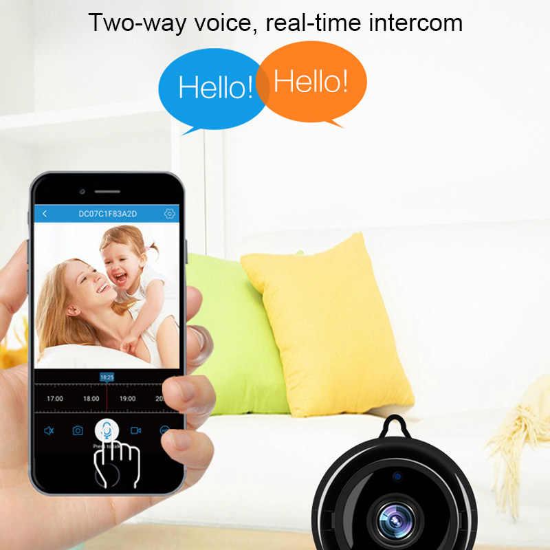 Mini Câmera IP 720P Ao Ar Livre Sem Fio Indoor Dome Câmera de Segurança Casa Inteligente de Visão Noturna Monitor Do Bebê Monitor Da Câmera de CCTV