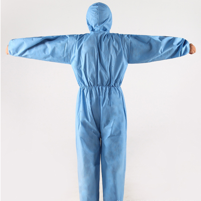 One Time Disposable Waterproof Oil-Resistant Protective Coverall for Spary Painting Decorating Clothes Overall Suit Workwear 4