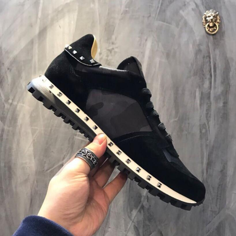 Rivet Women Men Running Shoes Luxury Brand Sport Shoes For Male Runner Walking Casual Fashion Top Quality Ladies Sneakers