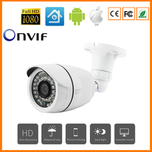 Aluminum Metal HD IP Camera 720P/960P/1080P Outdoor Waterproof Security CCTV Camera 24 IR Leds Night Vision Bullet Camera Onvif