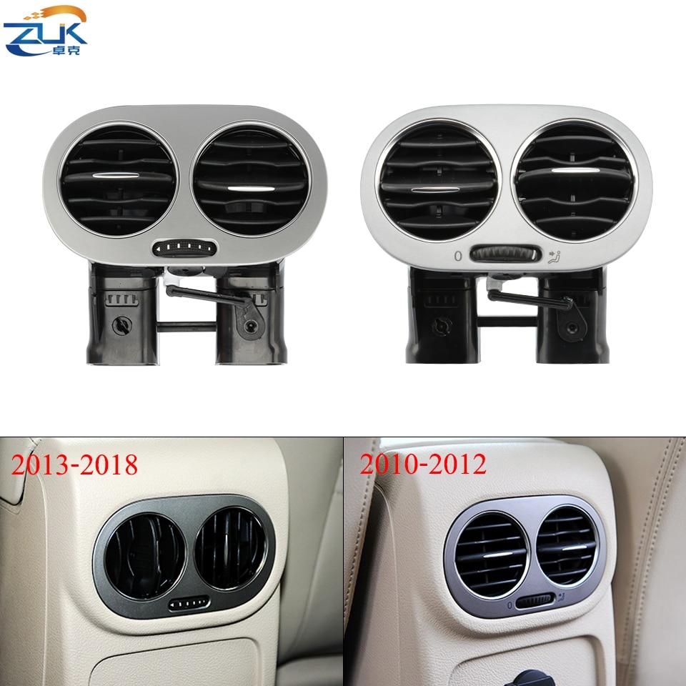 Zuk para vw tiguan 2010-2016 centro braço traseiro ar condicionado tomada ac ventilação montagem 5nd819203b 5nd 819 203b