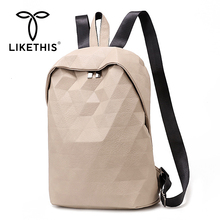 LIKETHIS Women Backpack Female New Shoulder Bags Multi-purpose Casual Fashion Unisex Lady Small Travel Trend