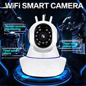 Image 5 - Kebidumei caméra de Surveillance IP WIFI hd 1080P, dispositif de sécurité domestique, avec vision nocturne, babyphone vidéo