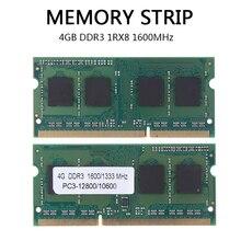 1pc DDR3L Laptop Memory RAM 4GB DDR3 1RX8 1600MHz PC3L-12800S 204Pin 1.35V Non-ECC SODIMM Notebook Memory RAMs tigo brand laptop memoria ram ddr3 4gb sodimm memory for notebook 1 35v low power 1600mhz 1333mhz