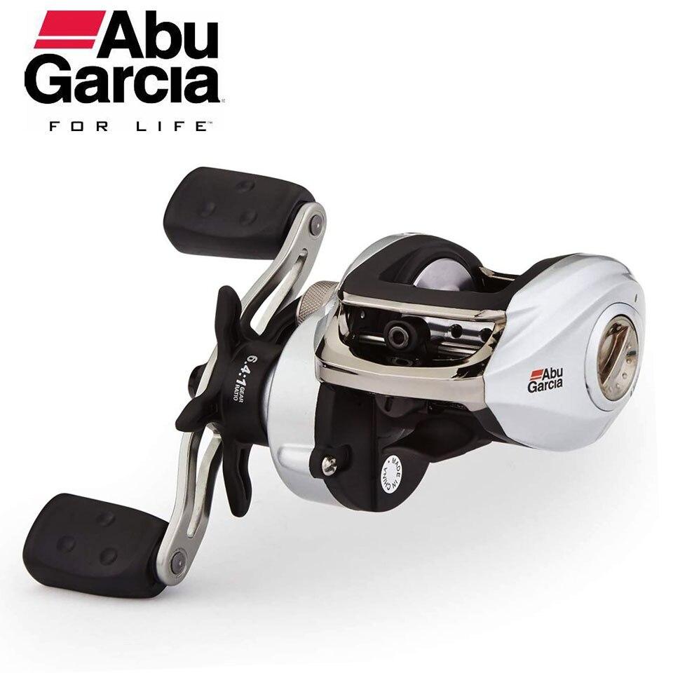 Abu Garcia SMAX3 Baitcasting Reel Low Profile Reel Right/Left Hand Bait Casting Fishing Reel 6.4:1 207g Max Drag 8kg