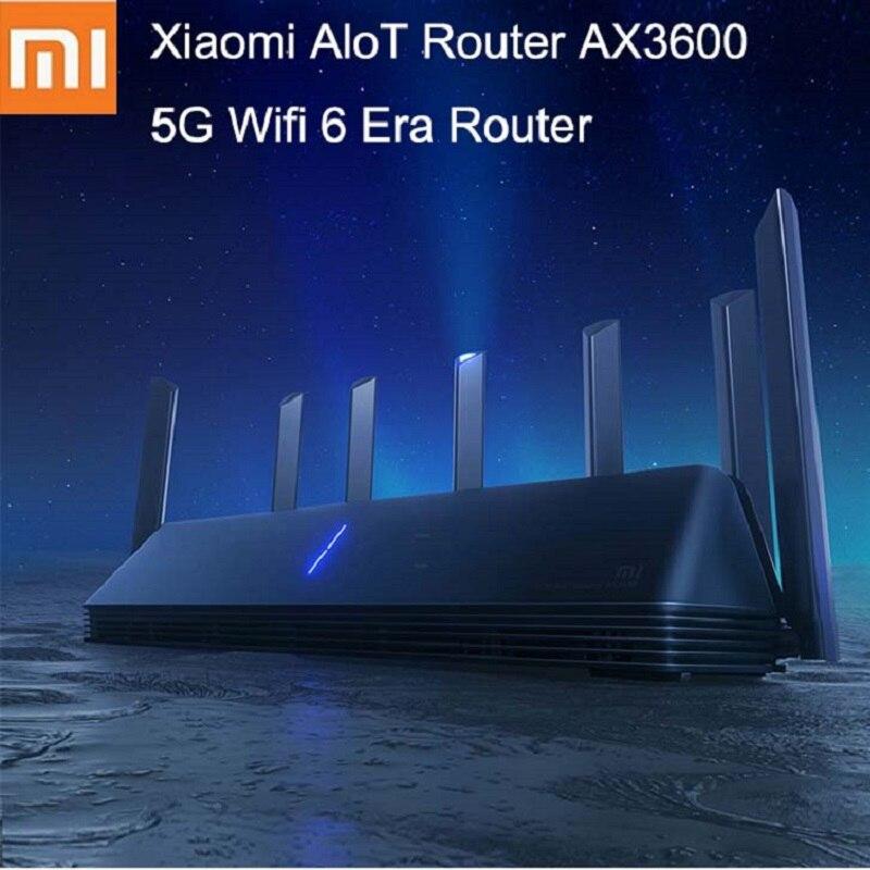 Xiaomi MI AX3600 AIoT Router Wifi 6 5G WPA3 Wifi6 600Mb Dual-Band 2976Mbs Gigabit Rate Qualcomm A53 External Signal Amplifier(China)