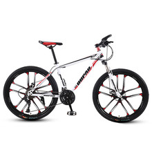 OUPAO Adulto Fuori Strada Mountain Bike 21 Velocità Variabile Velocità Variabile Della Bicicletta Della Strada Delle Donne Degli Uomini di 26 Pollici Ruota Da Corsa Telaio In Acciaio Al Carbonio giro