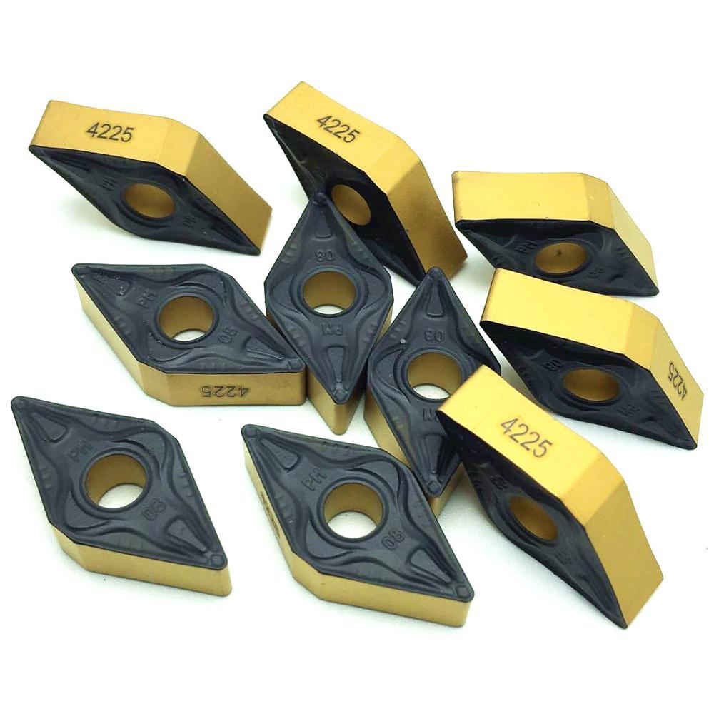 Lathe Tools DNMG150608 PM4225 DNMG 150608 External Turning Tools Carbide Insert High Quality DNMG150608 PM 4225 Turning Insert