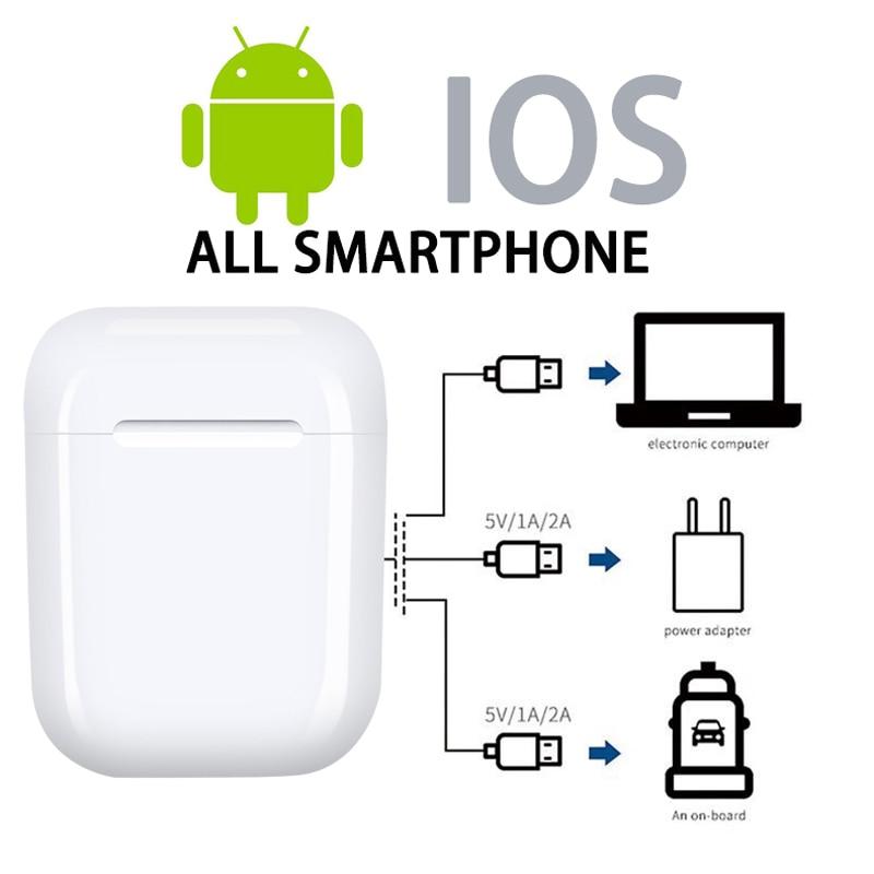 i9S i7S TWS Mini Wireless Bluetooth Earphones Earbuds Sport Handsfree Earphone headphones Headset Charging Box for xiaomi iPhone