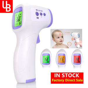 Infrared Forehead Non-Contact Fever Body-Temperature Baby Adult Digital LCD Ir-Measurement-Tool-Gun