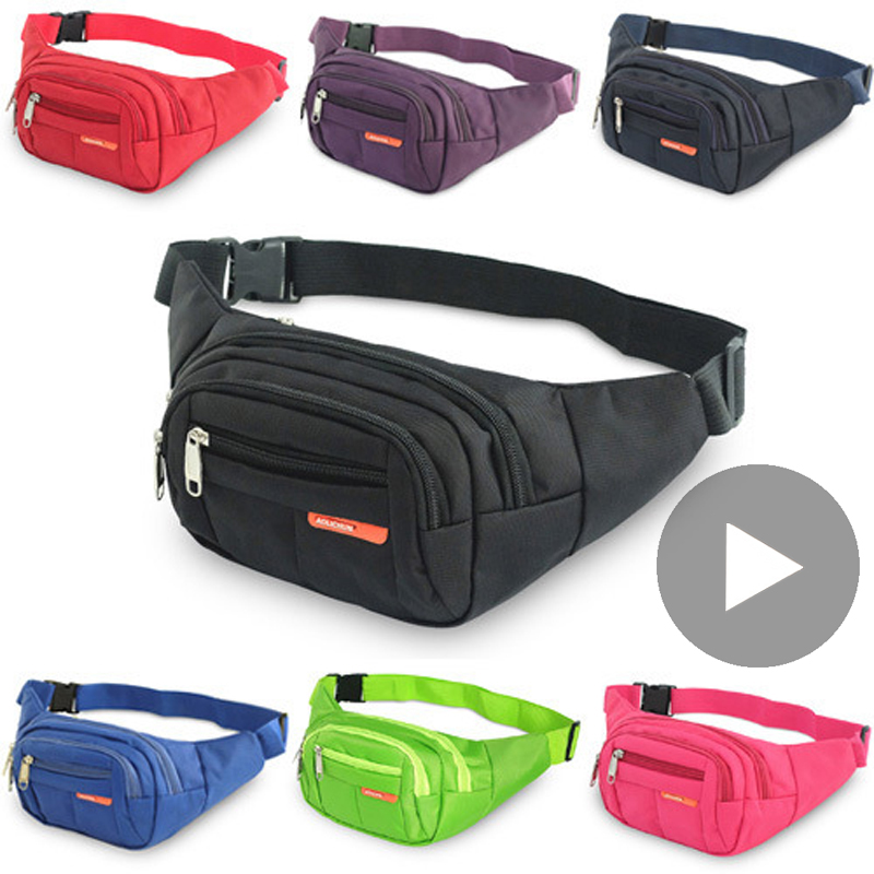 Waistbag Belly Banana Bum Hip Chest Money Belt For Men Women Waist Bag Male Female Fanny Pack Pouch Murse Purse Kidney Bumbag