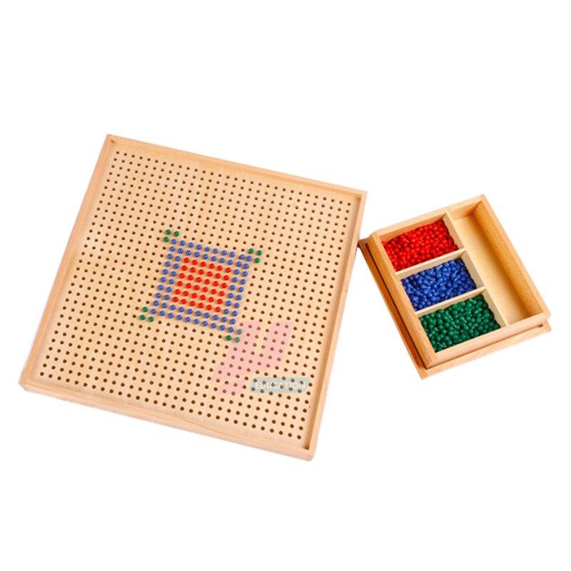 Монтессори материал Математика стандартная версия игры Монтессори Обучающие деревянные игрушки - 3