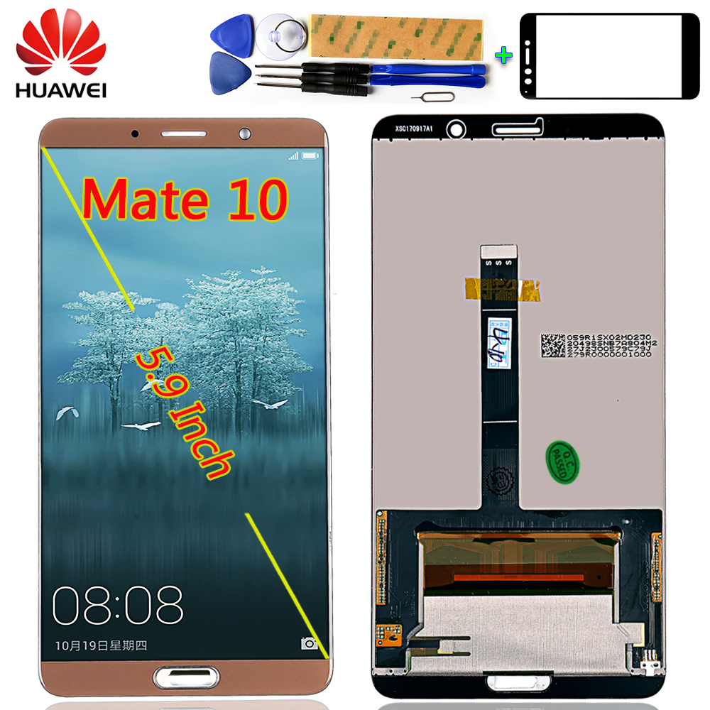For Huawei MATE 10 5.9 inch LCD Display Touch Screen For Mate10 Digitizer Sensor Assembly 2560*1440 +Free tools