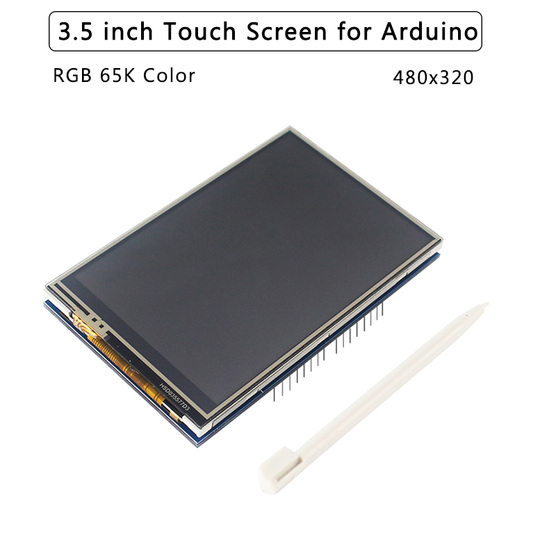 3.5 Inch  Touch Screen For Arduino UNO MEGA 480x320 RGB 65K Color 8-bit Parallel Interface LCD With SD Catd Slot TFT Display