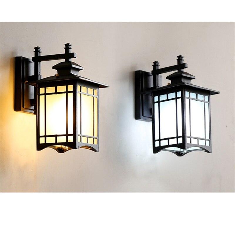 Outela-luminária de parede para ambientes externos, clássica,