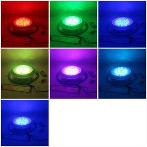 Image 5 - Led lampen Pool IP68 Wasserdichte Unterwasser Lichter 12V AC/DC Brunnen Beleuchtung RGB mit Fernbedienung 18W 36W 45W 54W