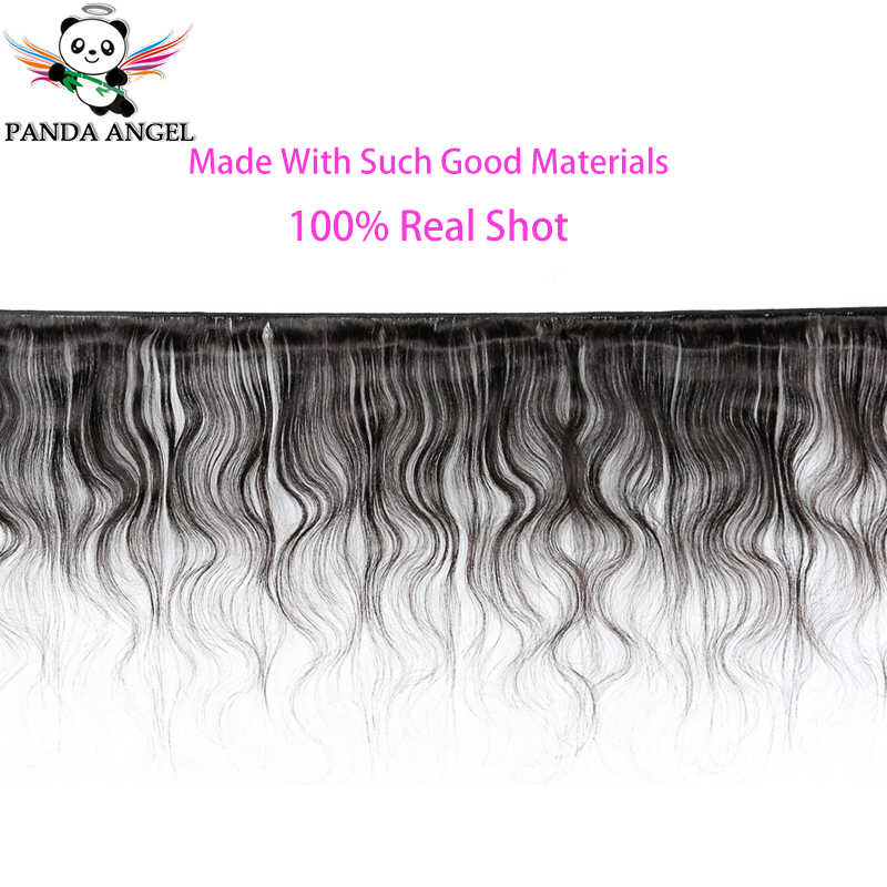 Panda Body Wave Full Lace Wigs Remy Human Hair Wigs With Baby Hair For Black Women Natural Color Brazilian 150% Density 8-30Inch
