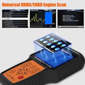 Image 3 - Foxwell NT650 OBD2 Automotive Scanner ABS Airbag SAS EPB DPF TPMS Olio di Reset Iniettore ODB2 Auto Strumento di Diagnostica OBD 2 auto Scanner
