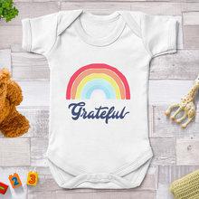 Радуга благодарны боди для новорожденных с О образным вырезом