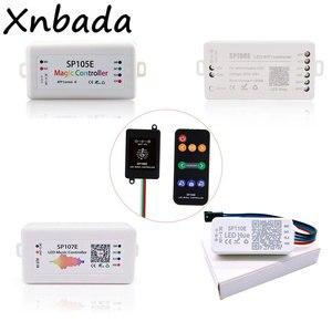 Image 1 - LedストリップライトコントローラSP105E/SP106E/SP107E/SP108E/SP110EためWS2812 SK6812 WS2811 WS2813 WS2815マジックledテープ
