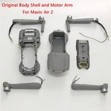Original novo dji mavic ar 2 braços corpo escudo médio quadro inferior cobertura superior mavic ar 2 substituição peças de reposição reparo